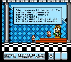 Super Mario 3 traduit en français par mes soins